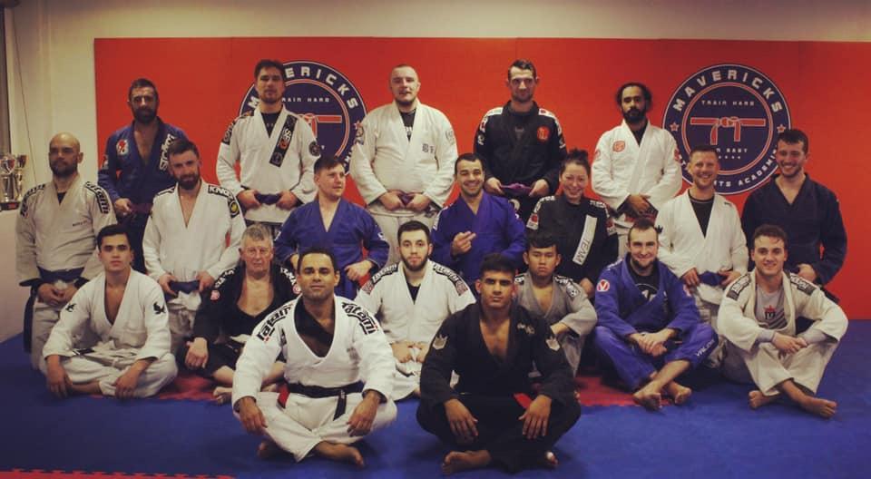 Brazilian Jiu Jitsu Guildford team at Mavericks Martial Arts