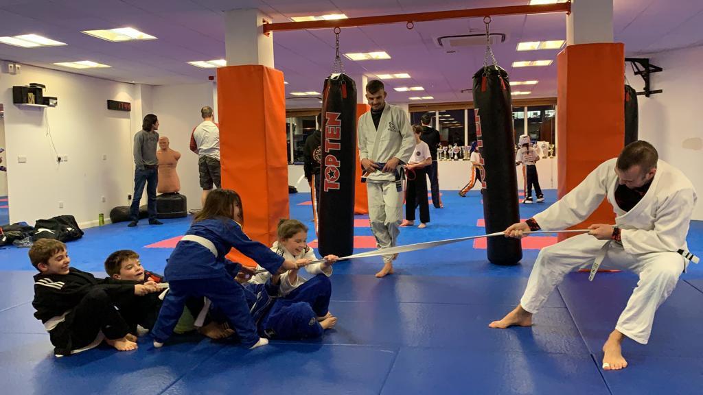 Kids BJJ in Guildford Surrey